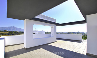 Impressive new built modern penthouse apartment for sale, with sea view, Benahavis - Marbella. Ready to move in. 17929