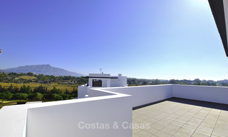Impressive new built modern penthouse apartment for sale, with sea view, Benahavis - Marbella. Ready to move in. 17930