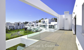 Impressive new built modern penthouse apartment for sale, with sea view, Benahavis - Marbella. Ready to move in. 17934