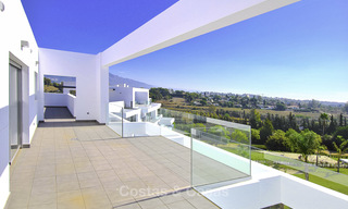 Impressive new built modern penthouse apartment for sale, with sea view, Benahavis - Marbella. Ready to move in. 17936