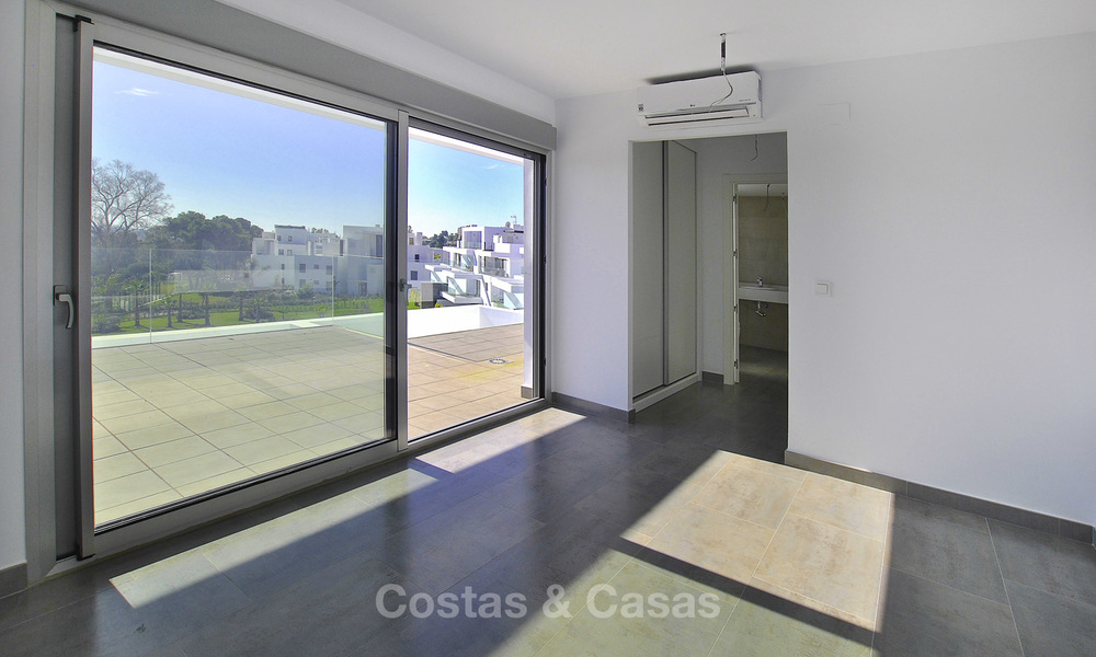 Impressive new built modern penthouse apartment for sale, with sea view, Benahavis - Marbella. Ready to move in. 17938