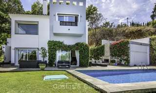 Modern detached luxury villa on a large plot in a peaceful country estate for sale, Marbella East 18124