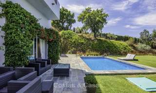 Modern detached luxury villa on a large plot in a peaceful country estate for sale, Marbella East 18130