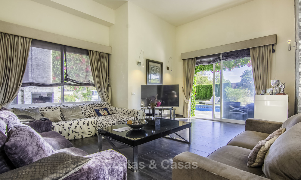 Modern detached luxury villa on a large plot in a peaceful country estate for sale, Marbella East 18131
