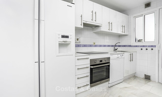 Bright and spacious apartment for sale, walking distance to Puerto Banus, amenities and beach in Nueva Andalucia, Marbella 17982