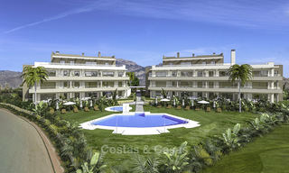 New modern apartments in a superb golf resort for sale, amazing views included! Mijas, Costa del Sol 18092