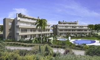 New modern apartments in a superb golf resort for sale, amazing views included! Mijas, Costa del Sol 18093