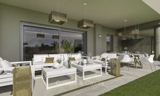 New modern apartments in a superb golf resort for sale, amazing views included! Mijas, Costa del Sol 18099