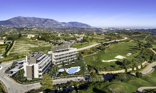 New modern apartments in a superb golf resort for sale, amazing views included! Mijas, Costa del Sol 18101