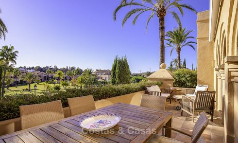 Bright and spacious penthouse for sale in a peaceful urbanisation next to a golf course, Marbella - Estepona 18160