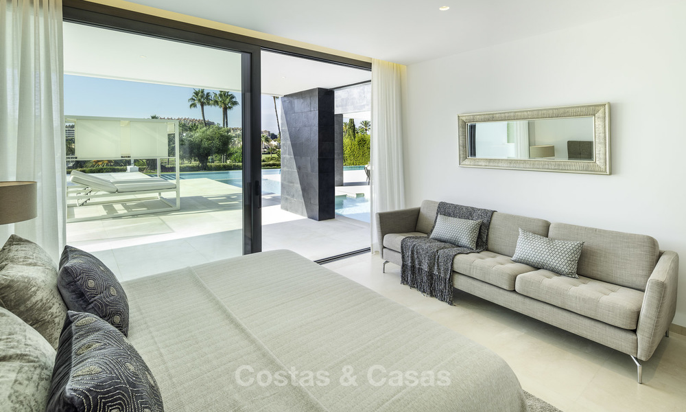 Exceptional, very spacious contemporary luxury villa for sale in the heart of the Golf Valley of Nueva Andalucia, Marbella 18294