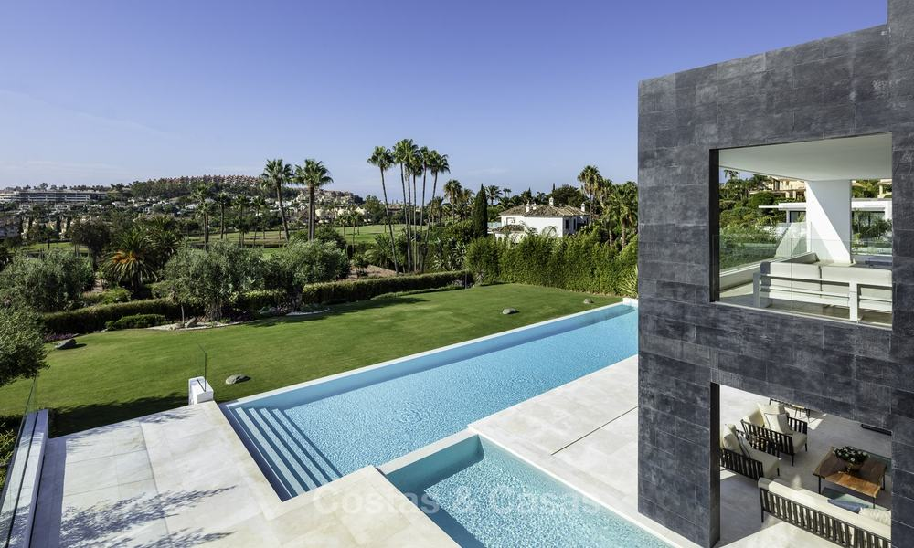 Exceptional, very spacious contemporary luxury villa for sale in the heart of the Golf Valley of Nueva Andalucia, Marbella 18297