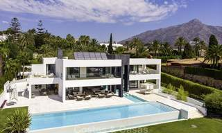 Exceptional, very spacious contemporary luxury villa for sale in the heart of the Golf Valley of Nueva Andalucia, Marbella 18316