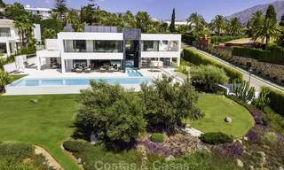 Exceptional, very spacious contemporary luxury villa for sale in the heart of the Golf Valley of Nueva Andalucia, Marbella 18317