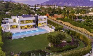Exceptional, very spacious contemporary luxury villa for sale in the heart of the Golf Valley of Nueva Andalucia, Marbella 18321