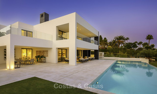 Exceptional, very spacious contemporary luxury villa for sale in the heart of the Golf Valley of Nueva Andalucia, Marbella 18324