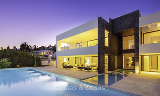 Exceptional, very spacious contemporary luxury villa for sale in the heart of the Golf Valley of Nueva Andalucia, Marbella 18327