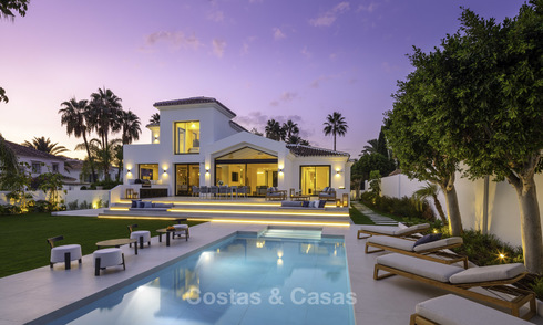 Tastefully refurbished rustic villa for sale in the heart of the Golf Valley in Nueva Andalucia, Marbella 18352