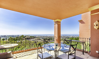 Spacious and cosy apartment with panoramic sea views for sale, Benahavis - Marbella 18358