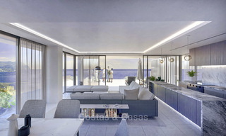 Innovative contemporary luxury apartments for sale in an impressive new beachfront complex in Malaga city 18380