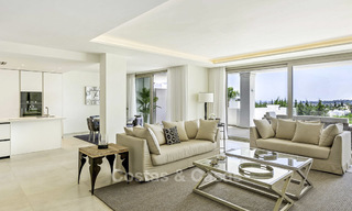 New luxury 4-bedroom apartment for sale in a stylish complex in Nueva Andalucia in Marbella. 18424