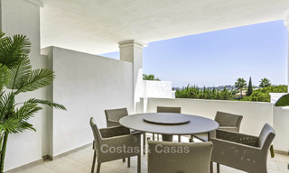 New luxury 4-bedroom apartment for sale in a stylish complex in Nueva Andalucia in Marbella. 18427