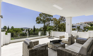 New luxury 4-bedroom apartment for sale in a stylish complex in Nueva Andalucia in Marbella. 18428
