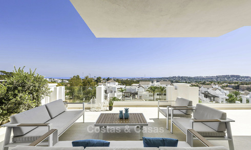 Contemporary luxury apartment for sale in an exclusive complex in Nueva Andalucia - Marbella 18446