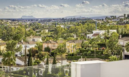 Contemporary spacious luxury penthouse for sale in an exclusive complex in Nueva Andalucia - Marbella 18482