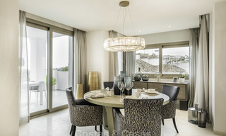 Contemporary spacious luxury penthouse for sale in an exclusive complex in Nueva Andalucia - Marbella 18486