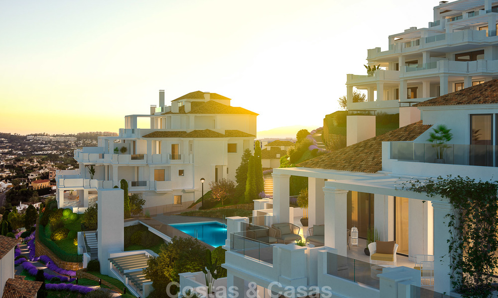 Contemporary spacious luxury penthouse for sale in an exclusive complex in Nueva Andalucia - Marbella 18501