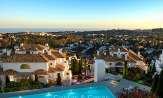 Contemporary spacious luxury penthouse for sale in an exclusive complex in Nueva Andalucia - Marbella 18503