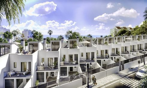 Brand new modern townhouses for sale, walking distance to the beach and amenities, Benalmadena, Costa del Sol 18667