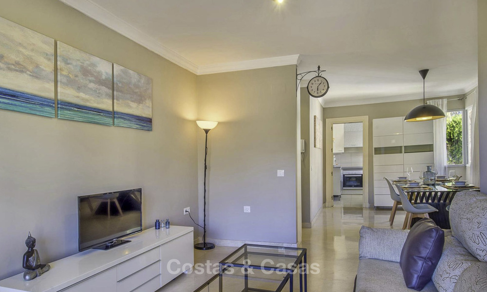 Stylish and bright, recently refurbished penthouse apartment for sale, frontline golf, Benahavis - Marbella 18697