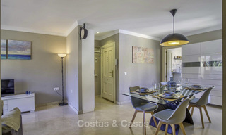 Stylish and bright, recently refurbished penthouse apartment for sale, frontline golf, Benahavis - Marbella 18698
