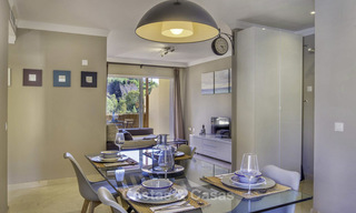 Stylish and bright, recently refurbished penthouse apartment for sale, frontline golf, Benahavis - Marbella 18699