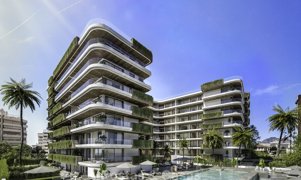 Impressive new luxury apartments in an exclusive complex for sale, walking distance to the beach, in the centre of Fuengirola, Costa del Sol 18716