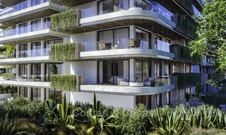 Impressive new luxury apartments in an exclusive complex for sale, walking distance to the beach, in the centre of Fuengirola, Costa del Sol 18728