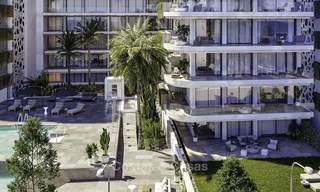 Impressive new luxury apartments in an exclusive complex for sale, walking distance to the beach, in the centre of Fuengirola, Costa del Sol 18730