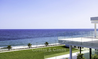 Exclusive new modern design beachfront penthouse for sale, move in ready, on the New Golden Mile, Marbella - Estepona 18847