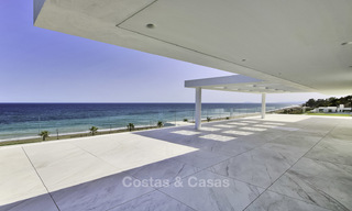 Exclusive new modern design beachfront penthouse for sale, move in ready, on the New Golden Mile, Marbella - Estepona 18848