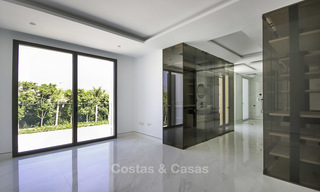 Exclusive new modern design beachfront penthouse for sale, move in ready, on the New Golden Mile, Marbella - Estepona 18859