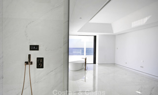 Exclusive new modern design beachfront penthouse for sale, move in ready, on the New Golden Mile, Marbella - Estepona 18862