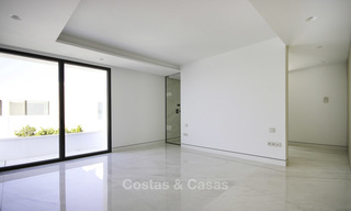 Exclusive new modern design beachfront penthouse for sale, move in ready, on the New Golden Mile, Marbella - Estepona 18867