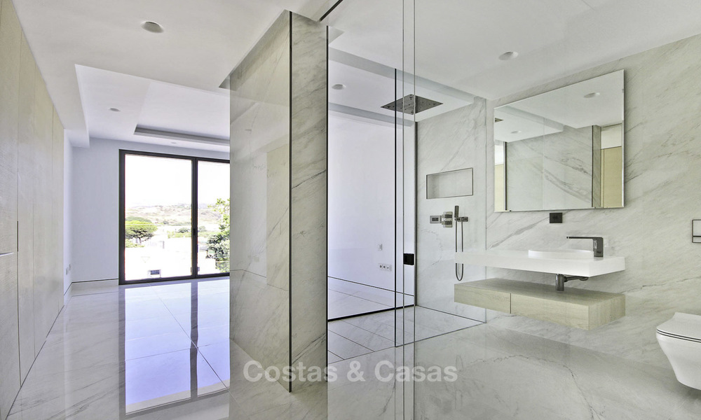 Exclusive new modern design beachfront penthouse for sale, move in ready, on the New Golden Mile, Marbella - Estepona 18868