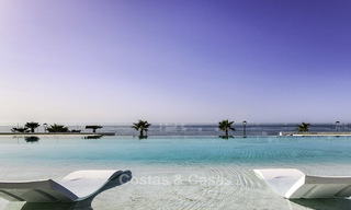 Exclusive new modern design beachfront penthouse for sale, move in ready, on the New Golden Mile, Marbella - Estepona 18881