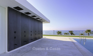 Exclusive new modern design beachfront penthouse for sale, move in ready, on the New Golden Mile, Marbella - Estepona 18882