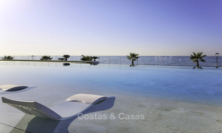 Exclusive new modern design beachfront penthouse for sale, move in ready, on the New Golden Mile, Marbella - Estepona 18883