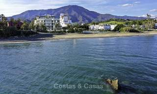 Stunning exclusive beachfront modern luxury apartments in boutique complex for sale near the centre of Estepona 18919