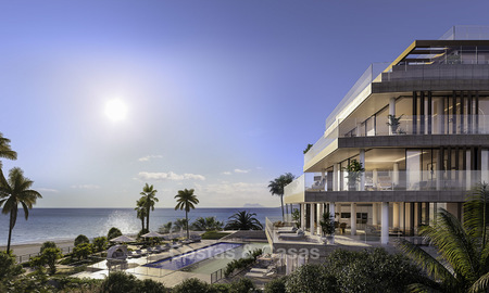 Stunning exclusive beachfront modern luxury apartments in boutique complex for sale near the centre of Estepona 18921